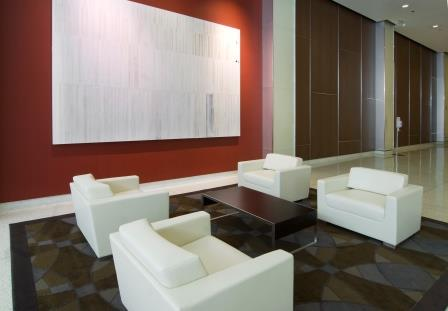 An example of Farbman Group's spec office suites, this one located at 200 W. Monroe St. in downtown Chicago.