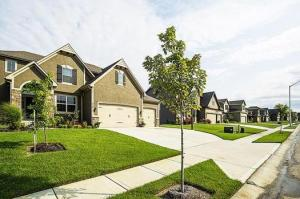 One of the homes that Hunt Midwest showcased during the recent fall Parade of Homes.