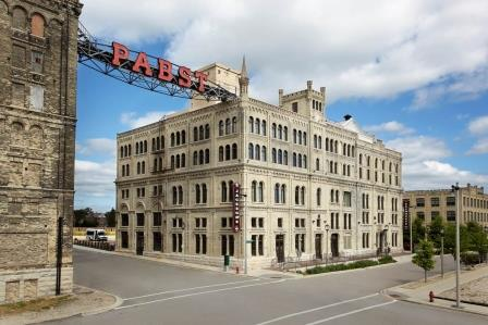 The Pabst Brewhouse Inn & Suites in Milwaukee is a good example of adaptive reuse.