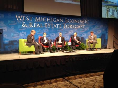 Colliers International|West Michigan held its breakfast forecast conference in late January.