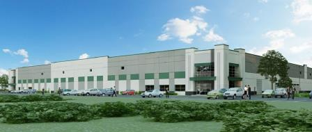 HSA is building this spec industrial building in the Gateway Business Park in Plainfield, Ind.