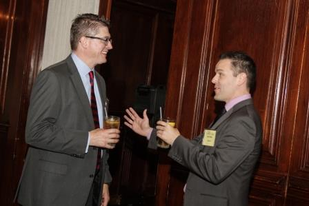 The recent CoreNet Global lunch provided opportunities for networking.