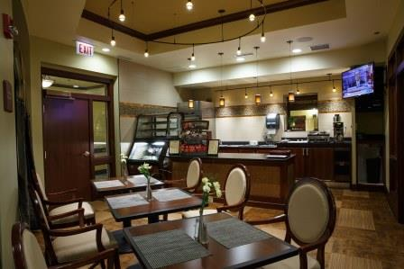 Cafe-style eating areas are becoming an important amenity for seniors housing facilities.
