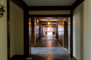 How the former Tower Club's hallway looks today.