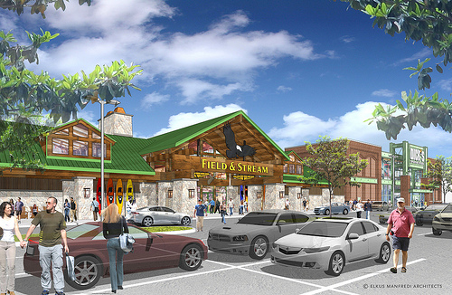 The Easton Gateway expansion is expected to draw even more visitors to the Easton Town Center in Columbus.