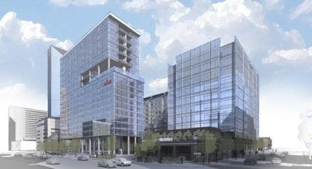 A rendering of the CentrePoint development planned for Lexington's CBD.