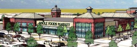 Renderings of The Summit Lexington retail development.