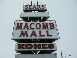 The iconic sign at the Macomb Mall has beckoned shoppers for 50 years.