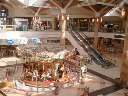 The carousel at Stratford Square Mall.