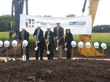 Block Real Estate Services recently recently celebrated the ground-breaking of CityPlace.