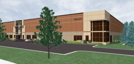 A rendering of Dayton Distribution Center 1.