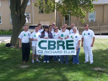 Latessa, along with his fellow CBRE pros, spends plenty of time giving back to his community.