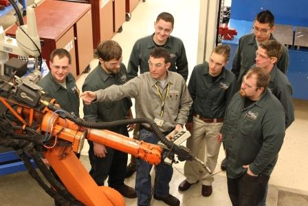 Technology, such as robotics, has been a key driver in the growth of St. Cloud.