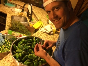 Ryan's Jason Gabrick likes pickles so much he helped start a pickle business.