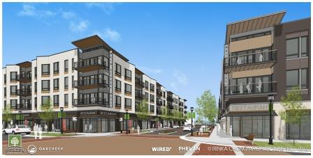 wispark s downtown dreams becoming a reality in oak creek rejblog. Black Bedroom Furniture Sets. Home Design Ideas