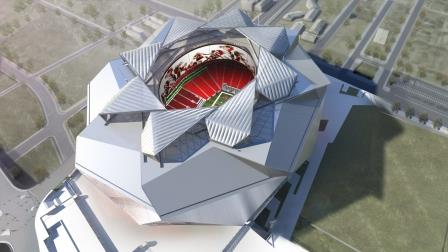The new home for the NFL's Atlanta Falcons will feature plenty of state-of-the-art amenities.
