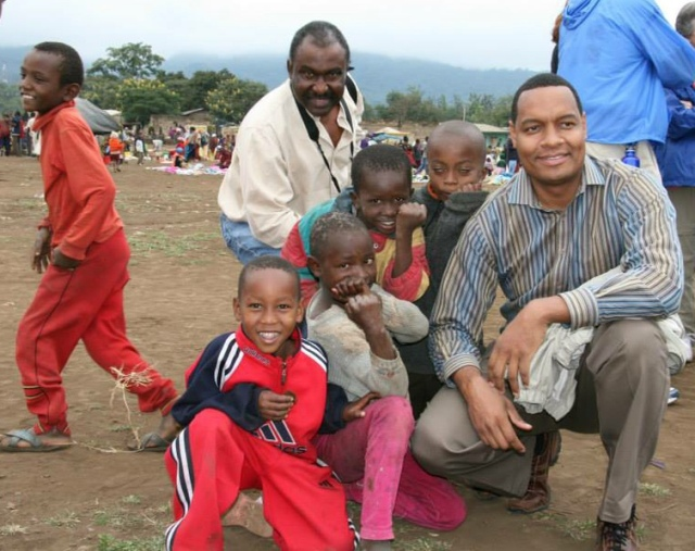 Troy Nash has traveled across the globe with People to People International. Here he spends time in Tanzania.