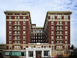 The McCurdy Hotel in Evansville is on the list of endangered buildings.