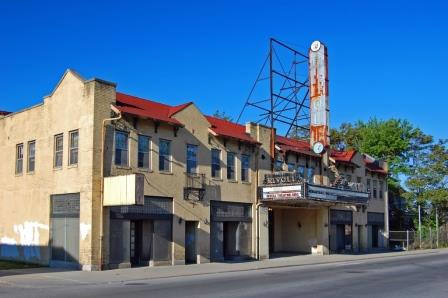 The Rivoli Theater in Indianapolis is on the list of endangered buildings.