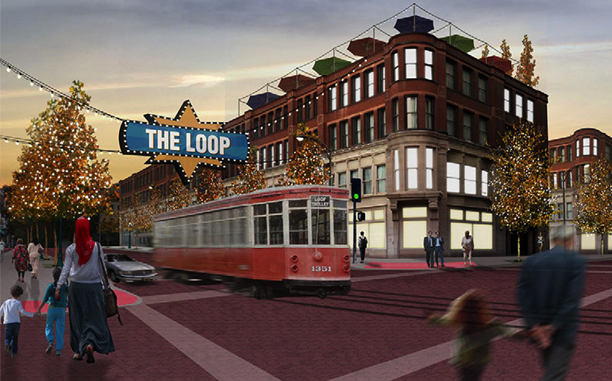 What the St. Louis Loop Trolley will look like.