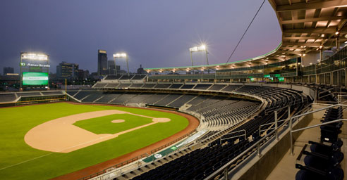 TD Ameritrade Park in downtown Omaha