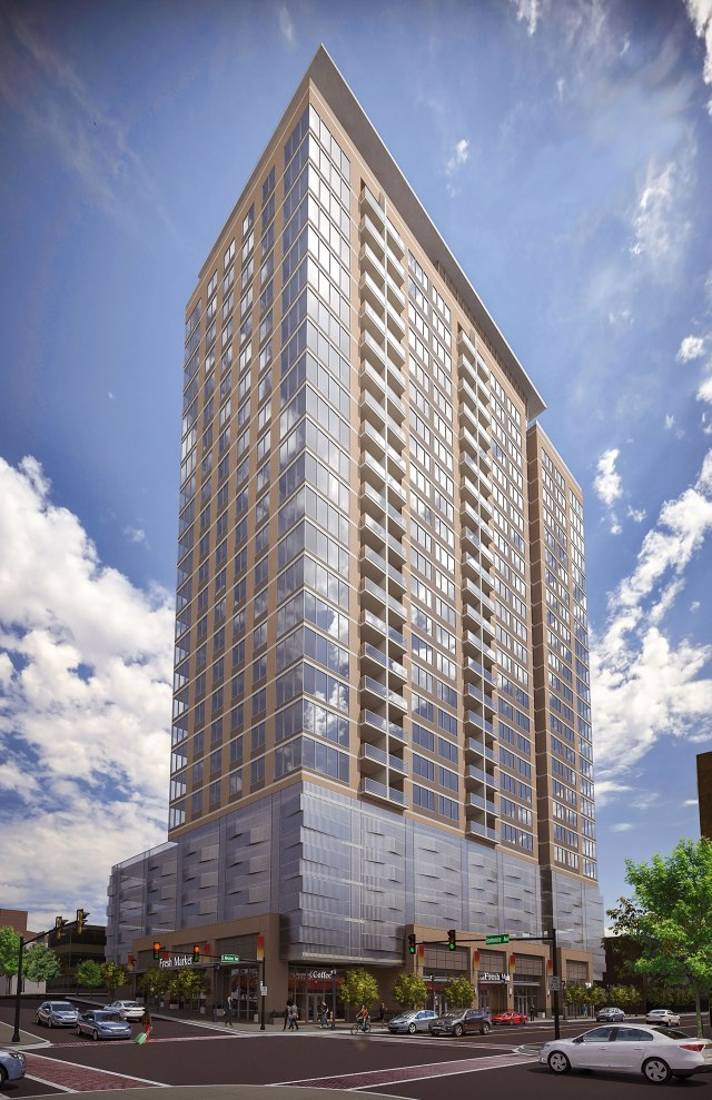 A rendering of 212 Meramec