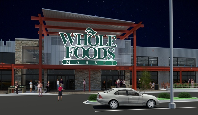 whole foods photo for grocery anchored retail story