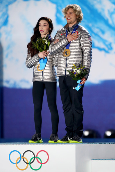 Olympic champions Meryl Davis and Charlie White