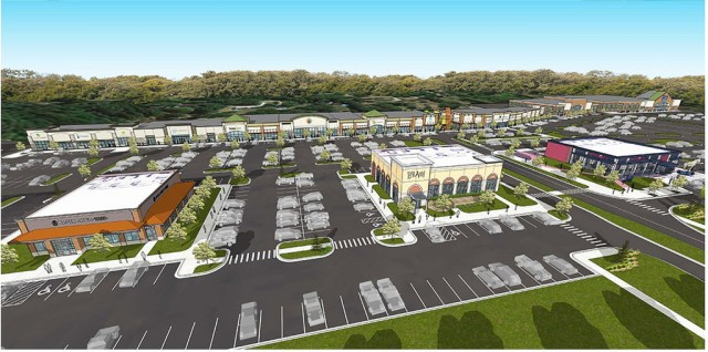 The Village at Knapp's Crossing is becoming a hotbed of retail activity in Grand Rapids.