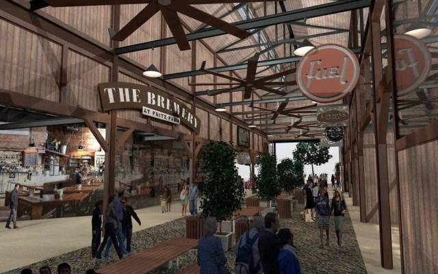 A rendering of the new food market set to open in The Summit at Fritz Farms in Lexington.