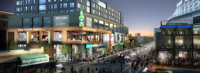 M&R Development's Addison & Clark mixed-use development has the potential to transform Chicago's Wrigleyville neighborhood.