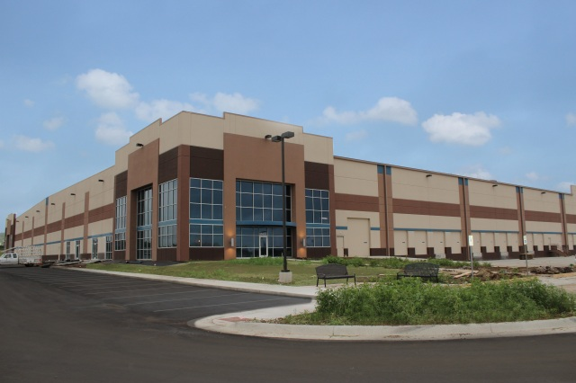 This Amazon fulfillment center in Kansas recently sold.